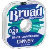 Монофильная леска Owner Broad  25м.  0. 18 мм.