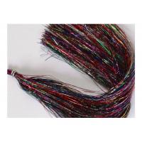 HEDRON Волокна синтетические плоские Flashabou RAINBOW